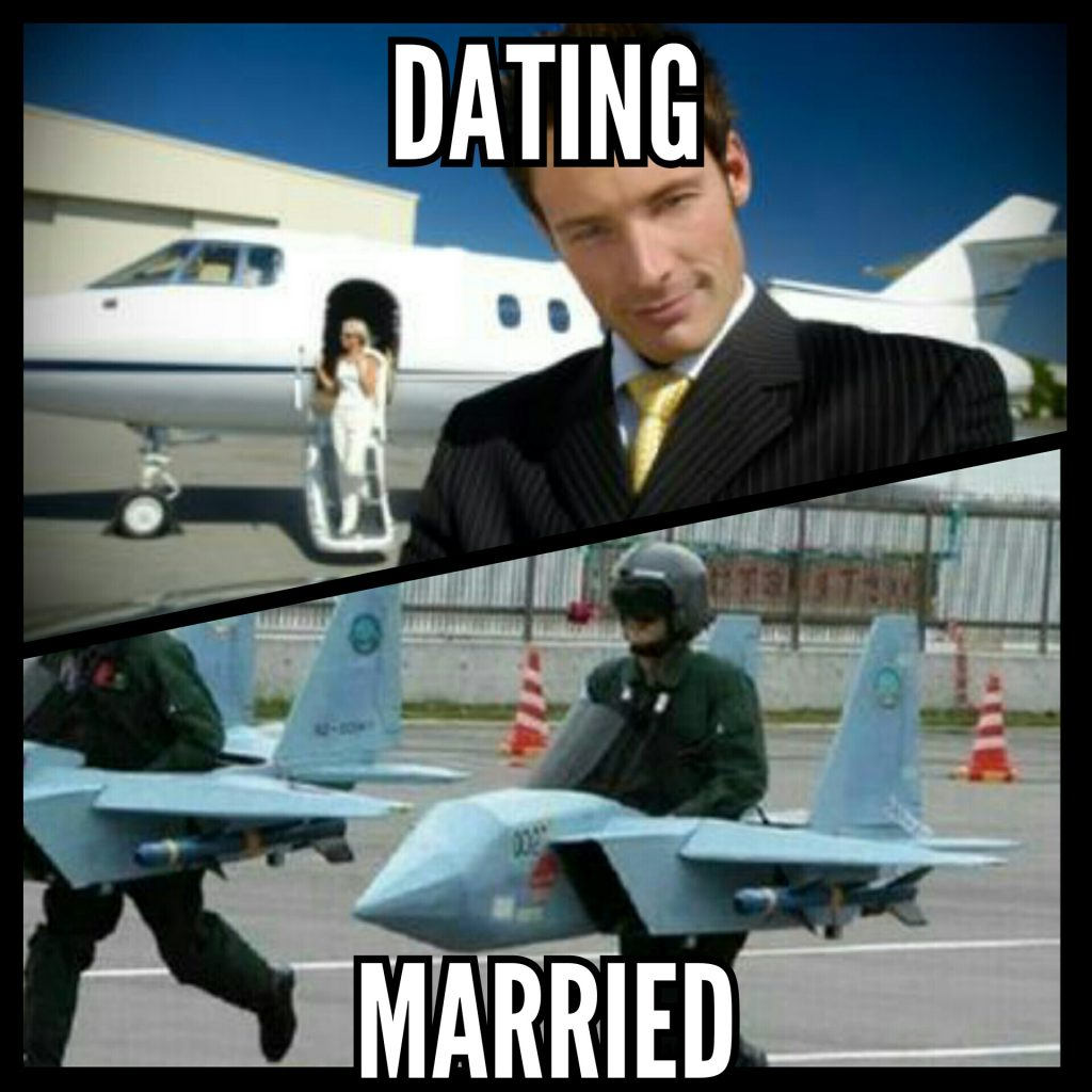 Dating vs married
