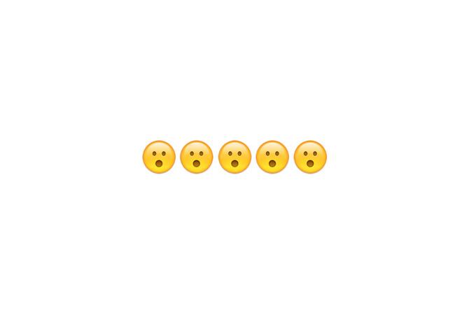 Oral emoji