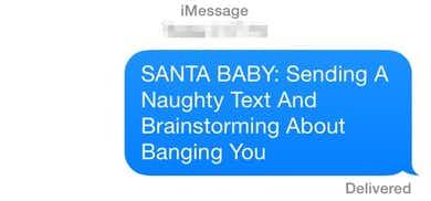 Secret Santa Sext