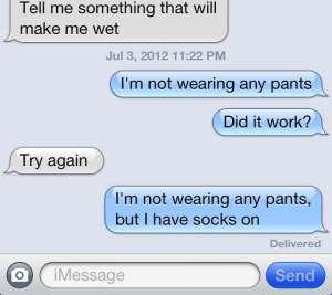 Slow and Descriptive sexting