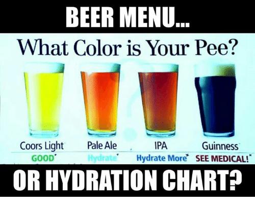 beer or pee