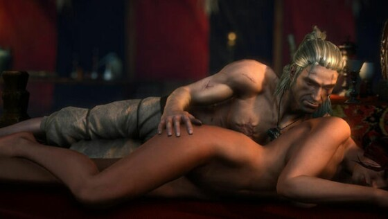 Witcher game sex scene