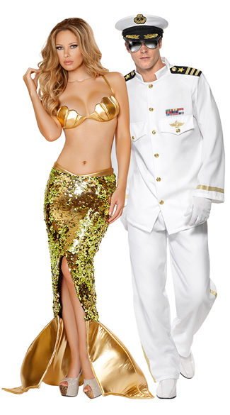 Sexy Siren and Sailor costumes